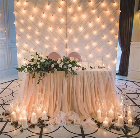 Wedding light  candles from (@semitsvetik decor) on