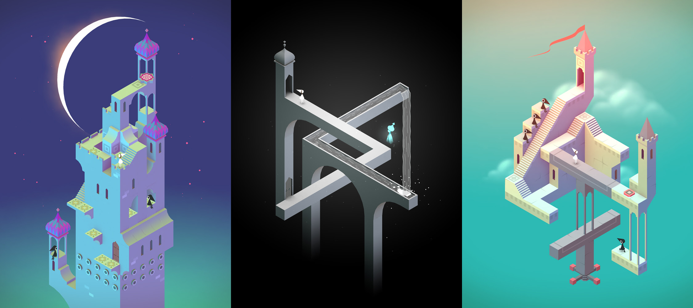 Monument Valley 2 just popped up on iOS screenshot