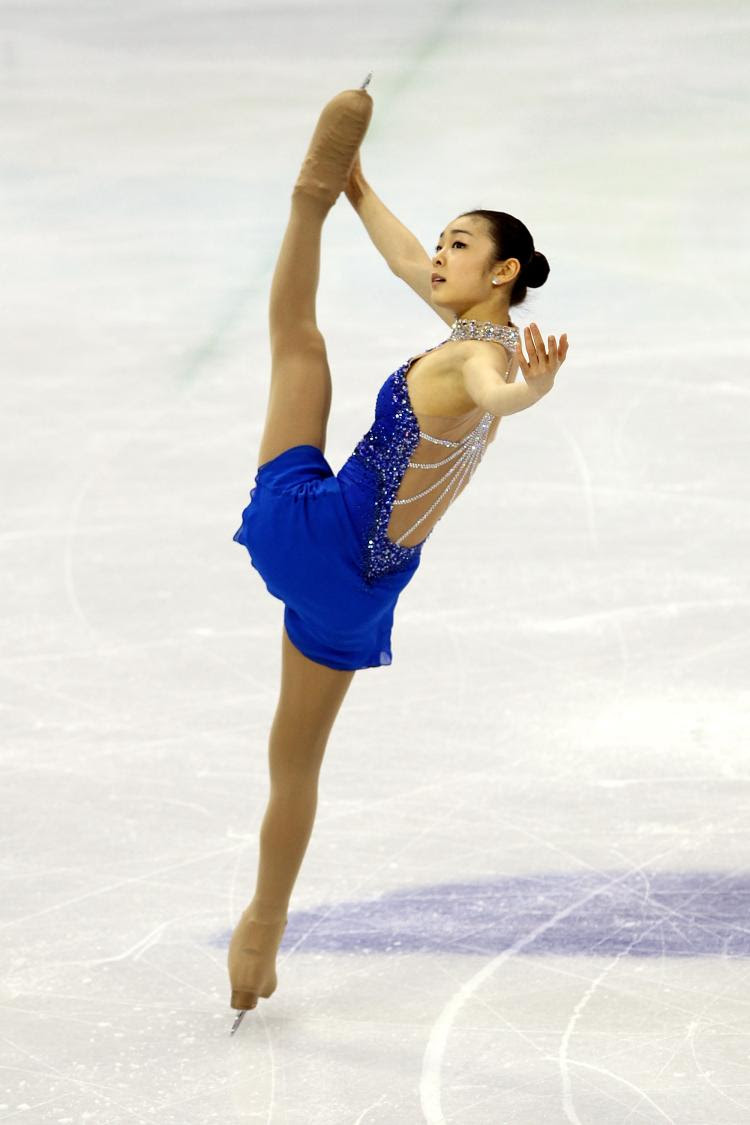 Yuna Kim is the Academy's 2013 Female Athlete of the Year
