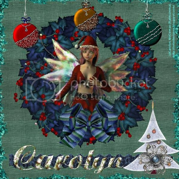 Fairies,Fantasy,Winter,Santa,Holiday Glitter