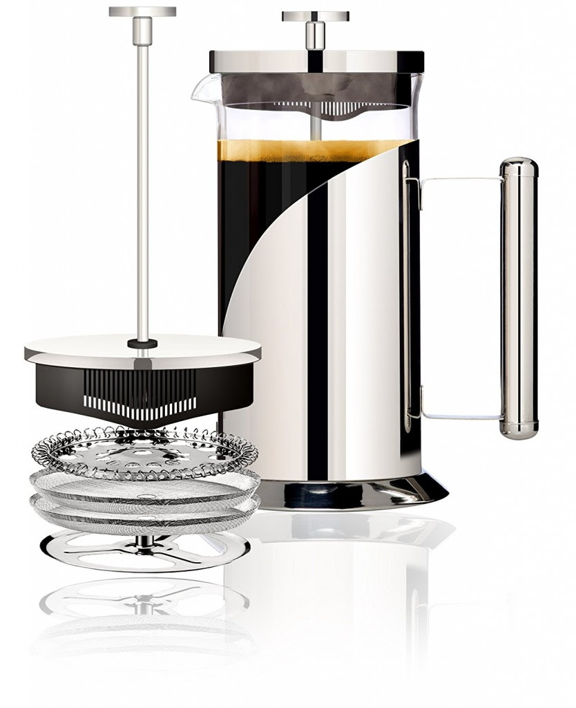 Amazon Lightning Deal: Cafe Du Chateau 34oz French Press Coffee Maker $15.36! (Extra 5% Discount ...
