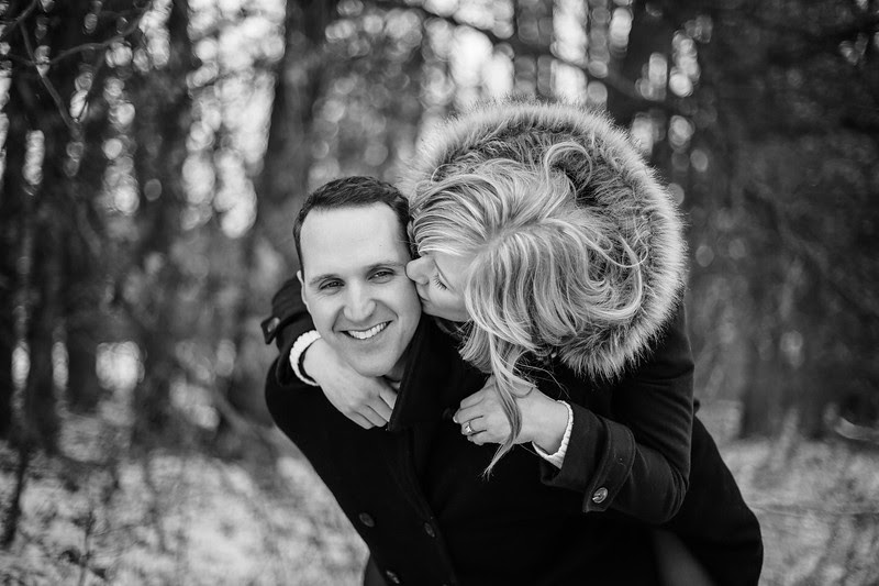 A winter engagement session with a great couple in Rockton Illinois at Williams Tree Farm. We ventured through snow covered pine trees and covered bridges.