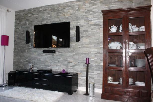 Wandsteine für wohnzimmer