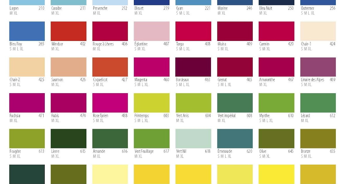 Car Paint Colors Chart - Gallery Of Chart 2019