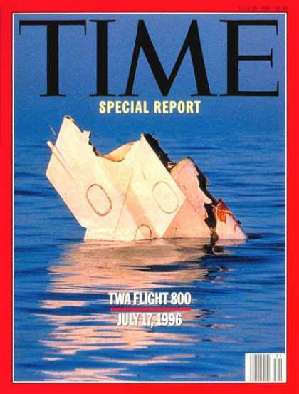 Time - TWA Flight 800 - July 29, 1996 - Disasters - Travel - Aviation