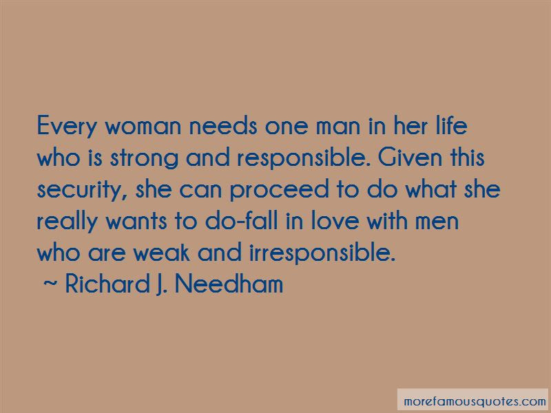 Every Man Needs A Woman In His Life Quotes Top 2 Quotes About Every