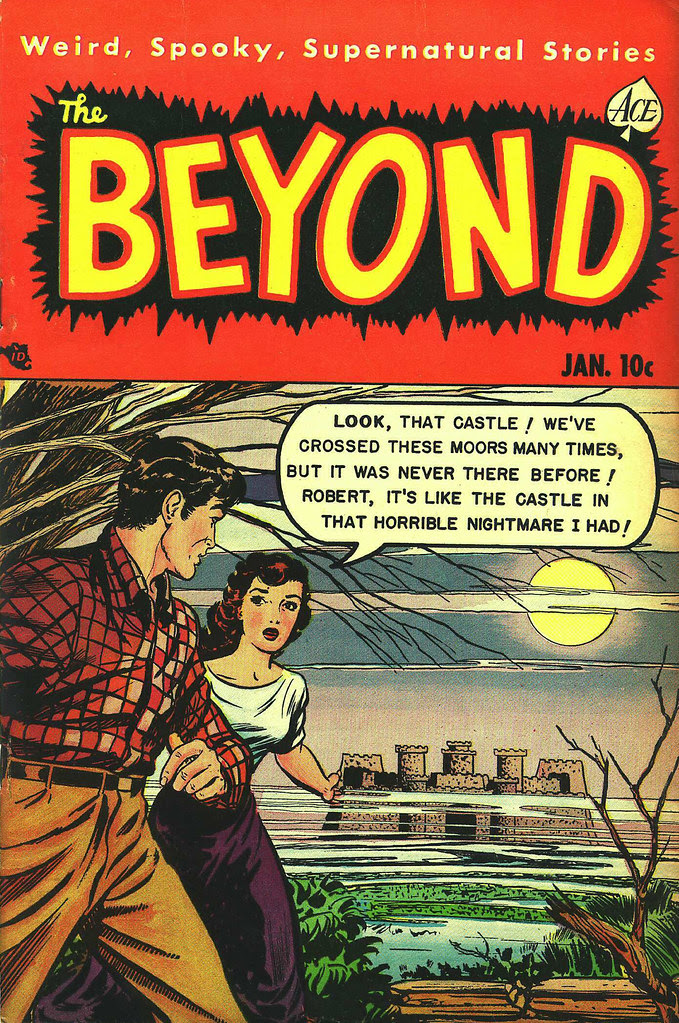 The Beyond #8 (Ace, 1952)