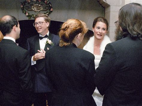 A look Bill Gates, Mark Zuckerberg's weddings   Business