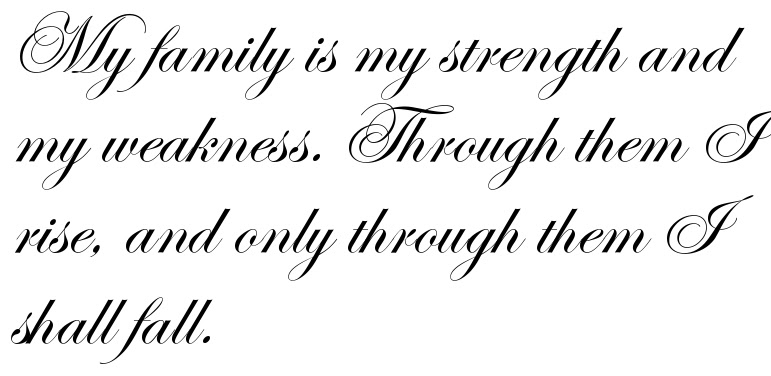 My Family Is My Strength And My Weakness Through Them I Rise And