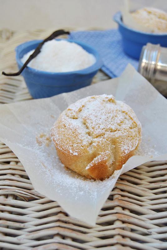 Coconut Vanilla Muffins