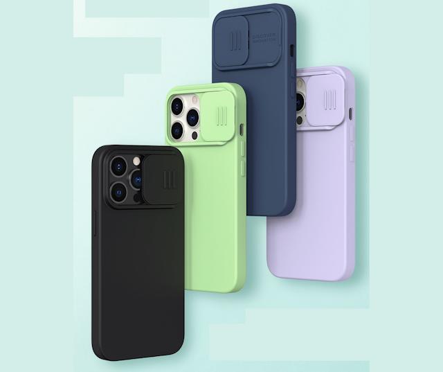 【網店獨家新品】Nillkin 滑蓋磁吸手機殼 iPhone 13 系列、支援 Magsafe