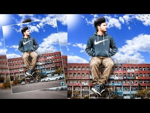Picsart Editing || Big Boy in the City Manipulation editing HD || 2018 A...