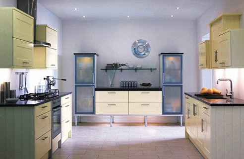 White & Cream Kitchen Design Ideas | Home Interior Design, Kitchen ...