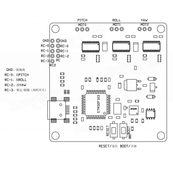 Dji Phantom 3 Standard Parts Diagram