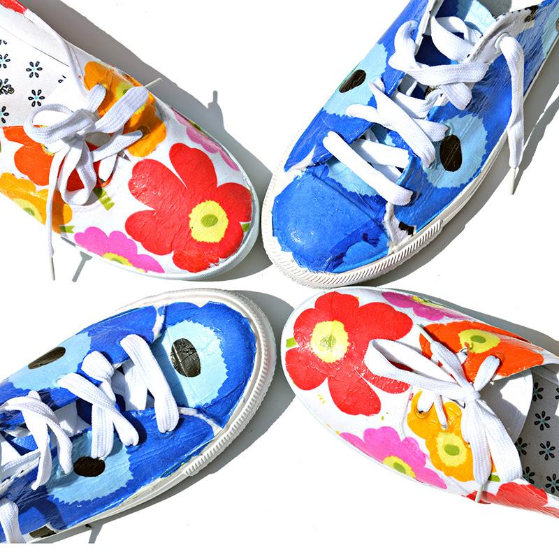 DIY Marimekko Shoes GL2