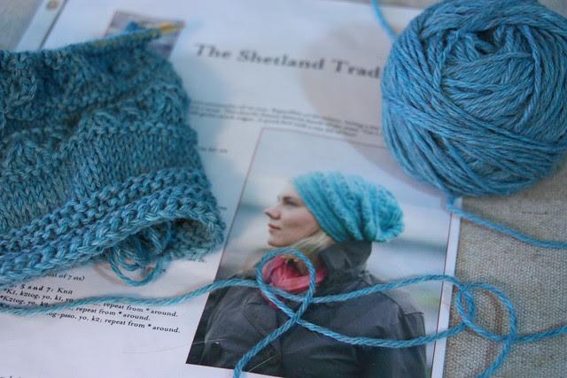 Knitting a Hat