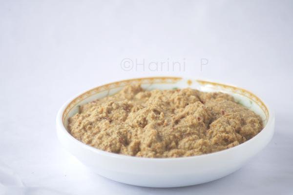 Arachhu utta sambar masala