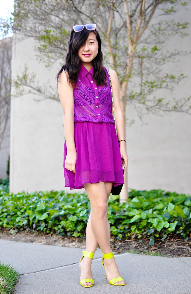 fashion blogs, personal style, spring fashion, spring trends, spring dresses, fuchsia, charlotte russe