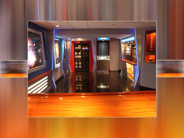 Home Theater Lobby Space Theme