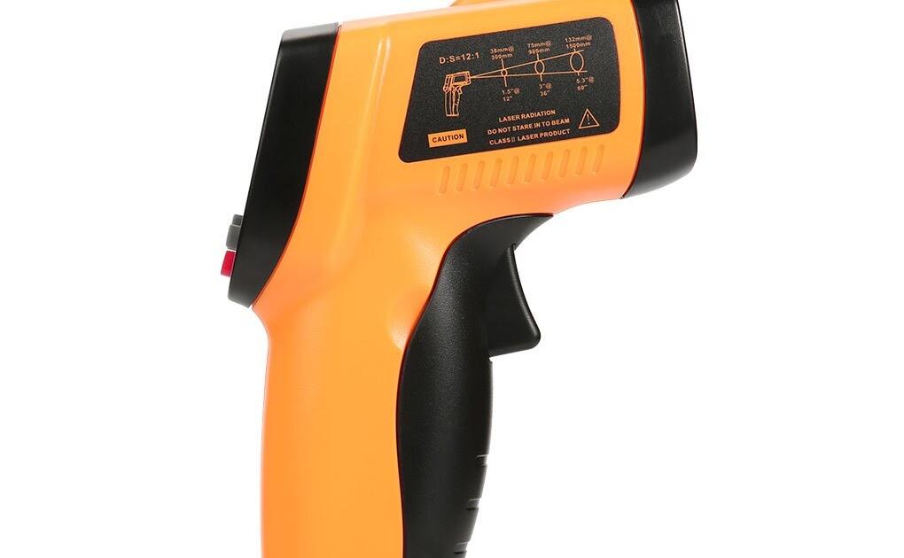 Thermomètre à infrarouge laser numérique sans contact pour GM320 température FR