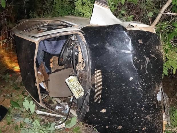Acidente ocorreu perto do bairro Vento Leste, em Barreiras (Foto: Jadiel Luiz/Blog do Sigi Vilares)