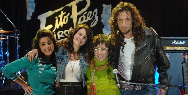 Fito Páez llega a Graduados y le canta 11 y 6 a Nancy Duplaa en los 80