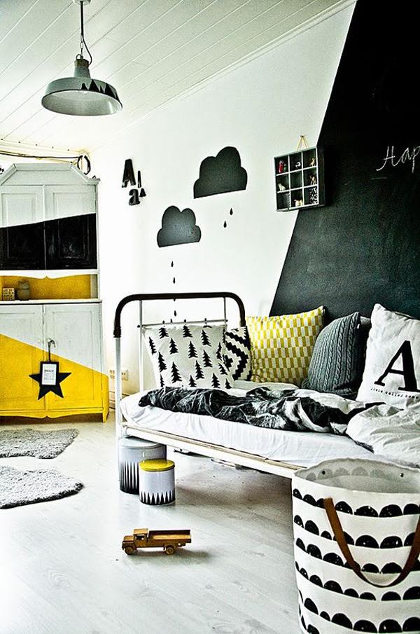 Murales Blanco Y Negro Para Habitaciones