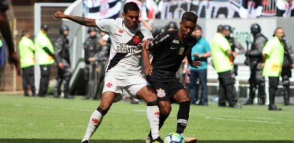 Vasco e Corinthians atuaram em Brasília. Mando era dos cariocas