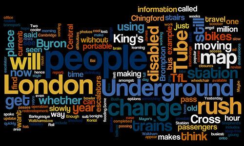 London Underground Wordle