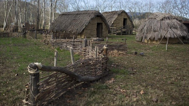 El poblado de La Draga, descubierto en 1990.