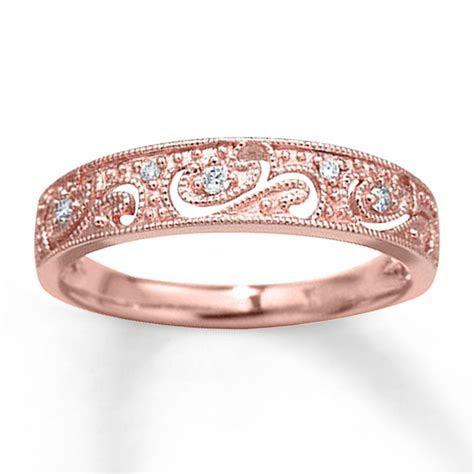 Rose Gold Ring: Kay Jewelers Rose Gold Rings