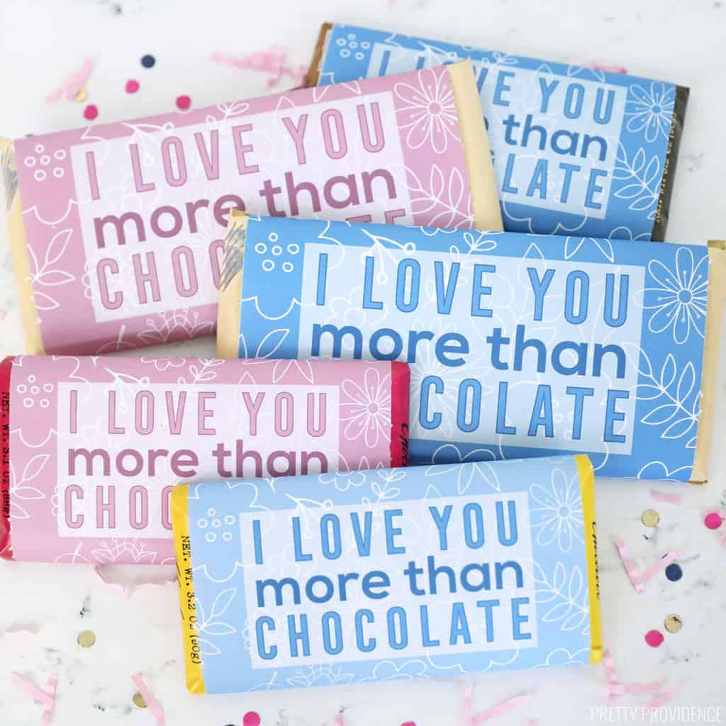 Mothers Day Candy Bar Wrappers by Pretty Providence