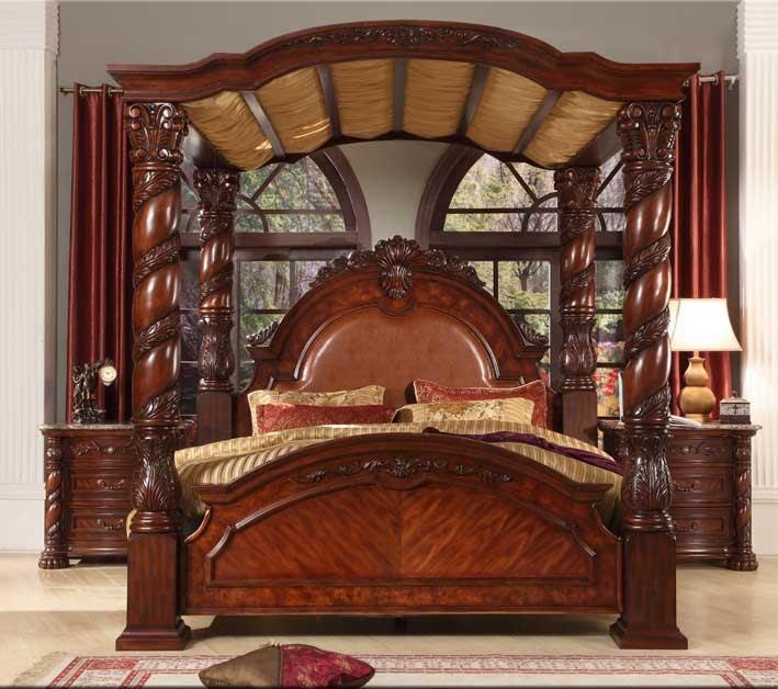 Bisini New Product Wood Bedroom Set, Solid Wood Luxury ...