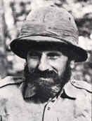 """Orde Wingate, conosciuto dagli ebrei come """"l'amico"""". Morì nel 1944 combattendo contro il Giappone nella Seconda Guerra Mondiale."""