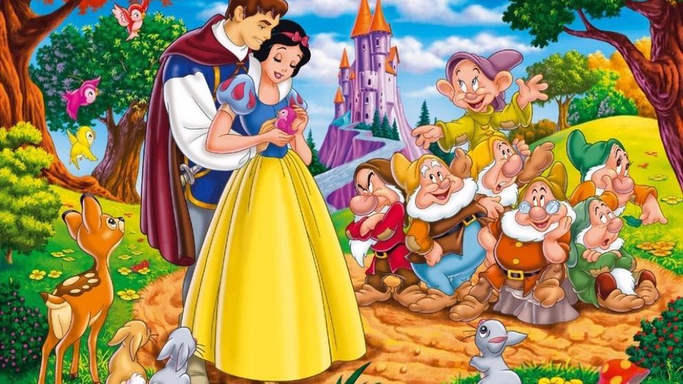 Resultado de imagen de dibujos animados de blancanieves y los siete enanitos