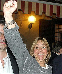 Alessandra Mussolini comunista