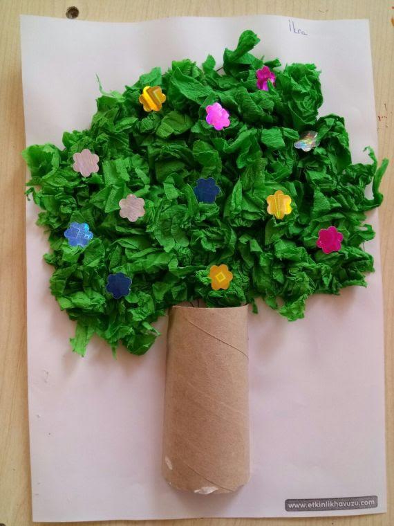 Ilkbahar Ağacı Etkinliği Eğitim Bilişim Ağı