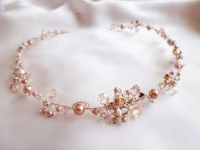 rose gold wedding accessories   Google Search   My hair