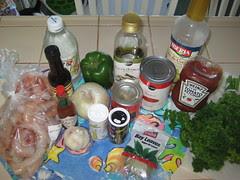 camarones enchilados ingredients