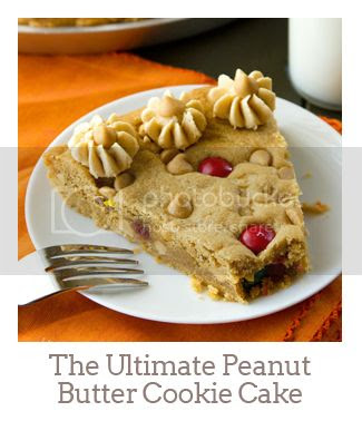 """""""The Ultimate Peanut Butter Cookie Cake"""""""