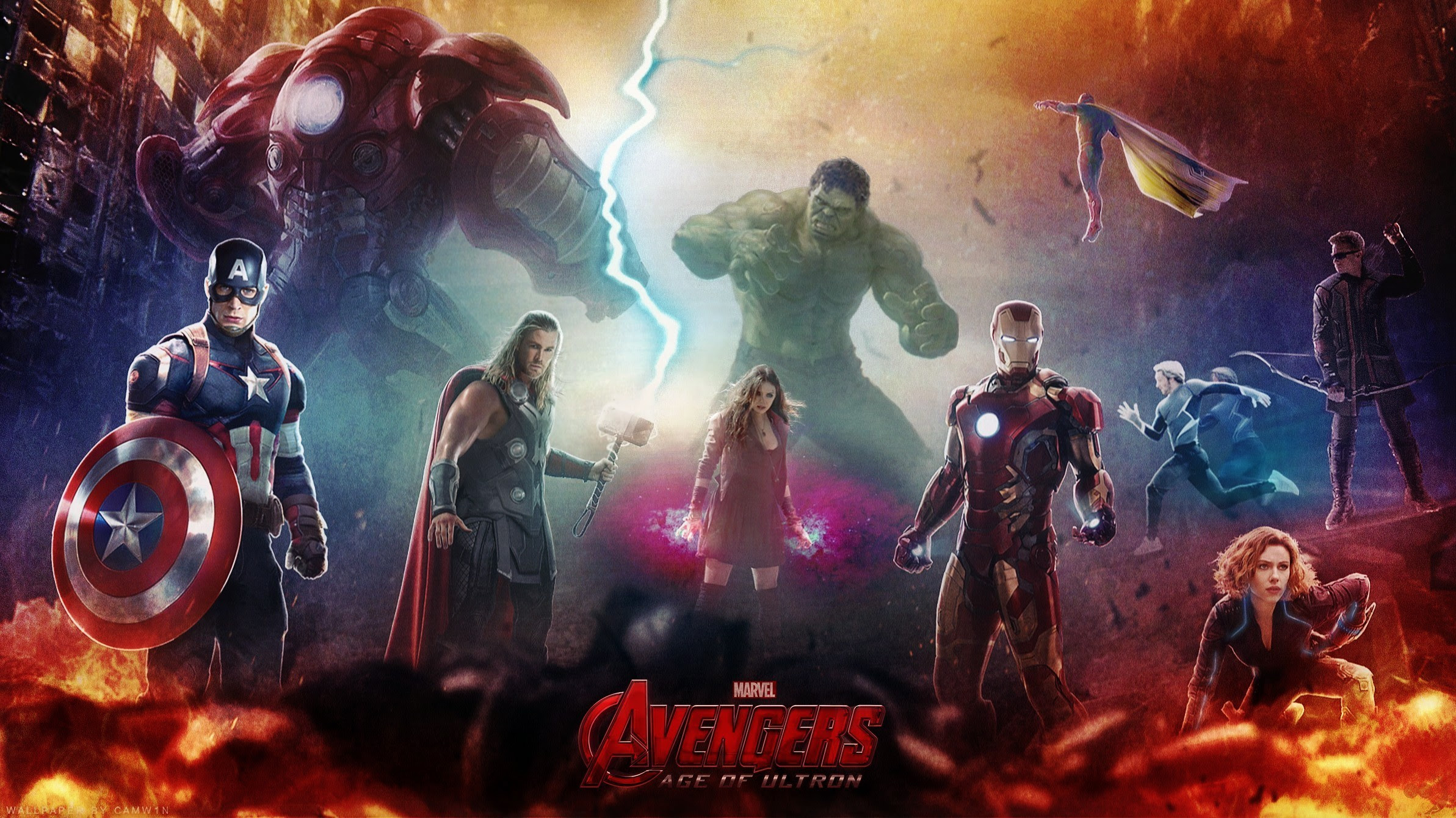Avengers Age Of Ultron Hd Wallpapers For Desktop Download