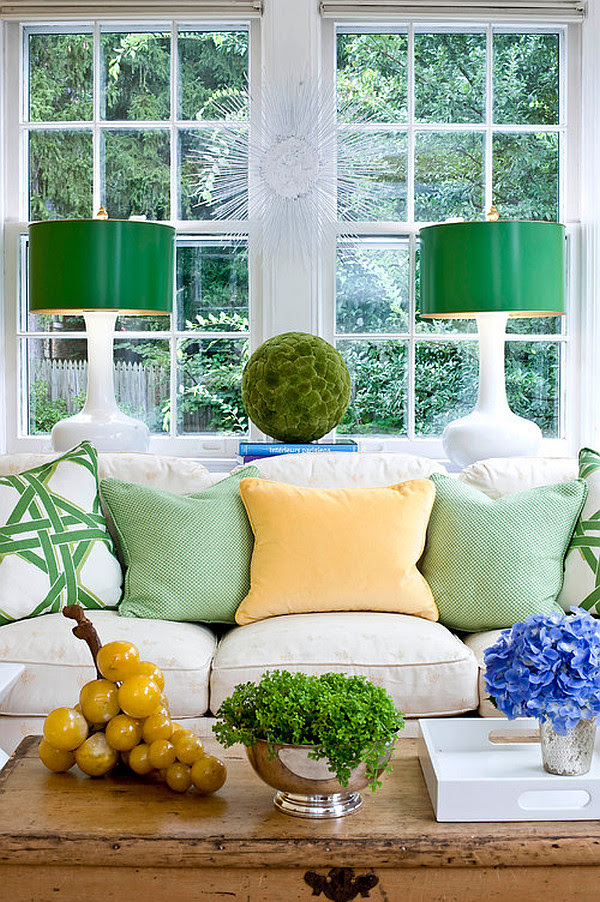 Bringing Spring Time Colors Into Your Winter Home