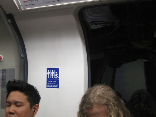 Tube Toilet Sign Spotted