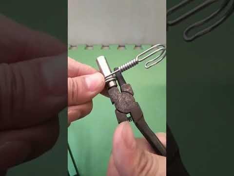 High-end luxury handmade keychain made of steel wire