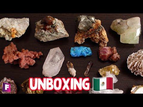Unboxing de Minerales Mexicanos !