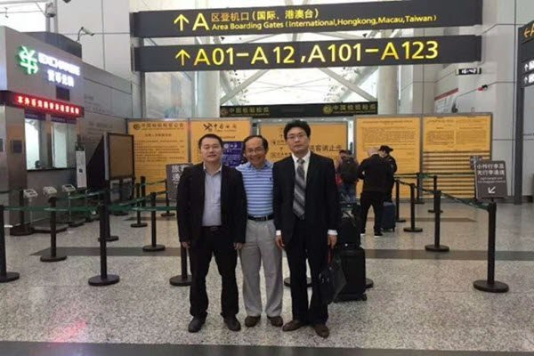 冯崇义2017年在中国离境时被阻 网络图片