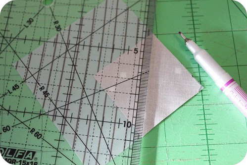 Japanese x and + quilt tutorial