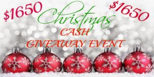 Christmas Cash Giveaway