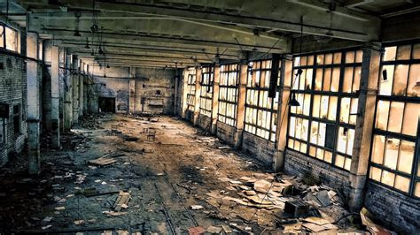 abandoned warehouse wallpaper allwallpaperin  pc