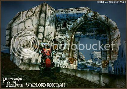 PostcardsFromAzeroth.com: Warlord Rok'nah
